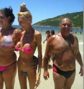 Funny Breast Implants Pic